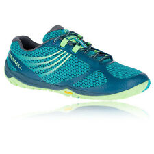 Merrell Pace Glove Womens Blue Vibram Trail Walking Sports Shoes Trainers