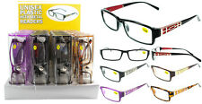 New Plastic With Metal Design Reading Glasses in a Plastic Case + FREE GIFT