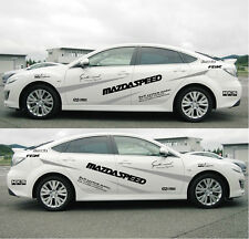 Personalized car styling RACINGSPEED car stickers auto MAZDASPEED decals Emblems