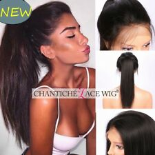 Indian Remy Human Hair Lace Front Wig Yaki Straight Full Lace Wig Small Size Cap