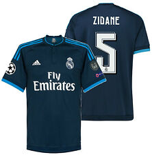 ADIDAS ZINEDINE ZIDANE REAL MADRID UEFA CHAMPIONS LEAGUE THIRD JERSEY 2015/16