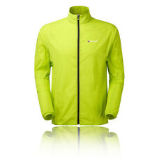Montane Featherlite Mens Green Windproof Outdoors Trail Running Jacket Top