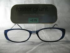 Foster Grant Radiance Blue Catseye Womens Fashion Reading Glasses +1.00 2.75