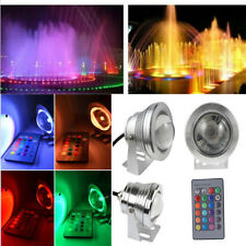 12V 10W Underwater LED Flood Wash Pool Waterproof Light Spot Lamp 1.2M Outdoor