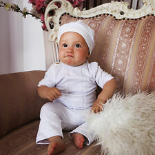 Newborn Baby Set Christening Baby Boy 3PCS Suit Baptism Baby Outfit Baby Clothes