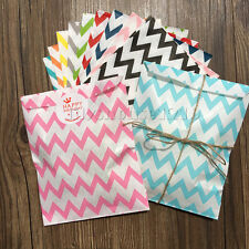 Wave Candy Papar Bags Party Wedding Sweet Favour Gift Bags & Sticker Labels