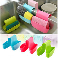 Portable Kitchen Sink Rack Organizer Sponge Storage Box Double Side Holder Tool