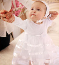 Newborn Baby Dress Baby Girl Outfit Christening Infant Dress Baptism Clothes