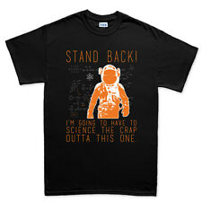 Stand Back For Science Funny Geek Nerd Big Bang T shirt Tee Top T-shirt
