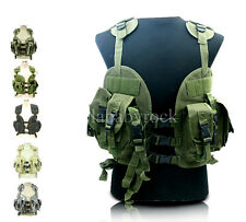 CAMOUFLAGE VEST US NAVY SEAL LOAD SWAT ASSAULT TACTICAL VEST-0207