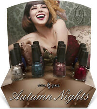 China Glaze Nail Polish Lacquer Autumn Nights Collection 0.5oz/14ml