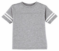 Rabbit Skins Toddler Short Sleeve Back Yoke Fine Jersey Football T-Shirt. 3037
