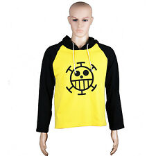 Anime One Piece Trafalgar Law Cosplay Clothes Sweater Costume Hoodie Coat Gift