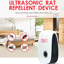 Ultrasonic Electronic Indoor Pest Bug Control Repeller Mouse Rat Mosquito Killer