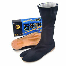 "MARUGO  Japan Tabi boots ninja shoes ""MANNEN"" Black any size"