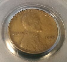 1924-D Lincoln Wheat Cent Penny~Certified PCGS F-15, Low Mintage, Semi-Key Date!