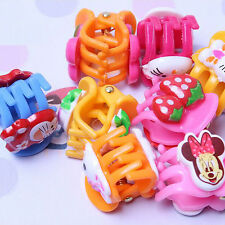 2016 new hair clip 1/6/10/12 pcs Cartoon Hair Claw Clamp  Bulldog Accessories