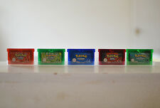 Pokemon Sapphire, Ruby, Emerald, Fire Red & Leaf Green (Gameboy Advance)
