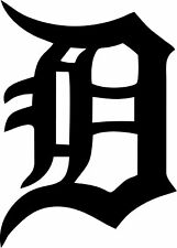 Detroit Tigers - Car Window Laptop Vinyl Decal Sticker