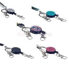 Rhinestone Neck Lanyard Holder ID Card Cell Phone Key Holder Key Chain DIY Craft
