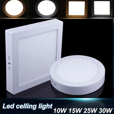 10W 15W 25W 30W Dimmable LED Ceiling Down Light Panel Lamp Bulb Warm Cool White
