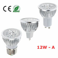 New 9W 12W MR16 E27 GU10 Dimmable Cool Warm White LED Bulb Lamp Light LM
