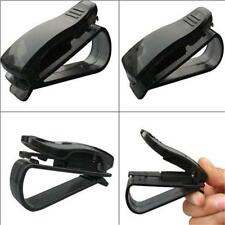 AUTO CAR TRUCK SUN VISOR MOUNTING EYEGLASSES TICKET CARD HOLDER CLIP CLAMP XW