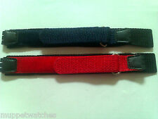 17mm 20mm Quality NYLON VELCRO GRIP SWATCH STRAP to Fit SWATCH WATCH STRAP BAND