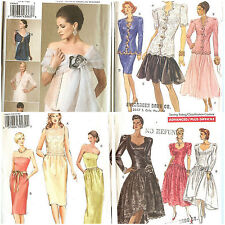 OOP Vogue Sewing Pattern Misses Formal Special Occastion Prom Party You Pick