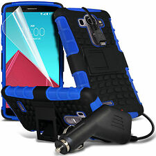 ShockProof Hard Tough Rugged Heavy Duty Builder Phone Case✔In Car Phone Charger