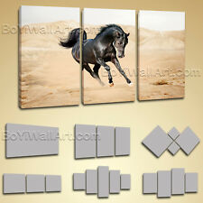 Gallery Wrapped Ready To Hang Horse Painting Giclee Print On Canvas Wall Art