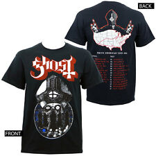 Authentic GHOST Band Warrior North American 2014 Tour T-Shirt S-3XL NEW