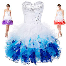 Teens Short Homecoming Bridesmaid Evening Party Cocktail Wedding Gown Prom Dress