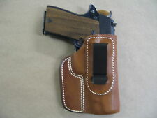 Star PD .45 IWB Leather In Waistband Concealed Carry Holster TAN RH