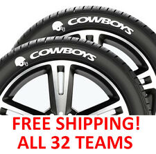 NEW NFL Tire Tatz Tattoo For Your Car Wheels! All 32 Teams!