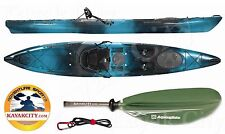 2016 Wilderness Systems Tarpon 140 Fishing Kayak w/Free Accessories - Midnight