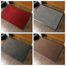 Small Rubber Door Entrance Barrier Mat Heavy Duty Large Hard Wearing Hall Rugs