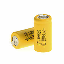 Low Price 1pcs Ni-Cd 1.2V 2/3AA 600mAh Rechargeable Battery NiCd Battery Choose
