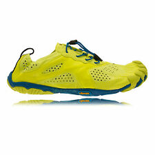 Vibram Bikila EVO Mens Yellow Blue Outdoors Running Sports Shoes Trainers
