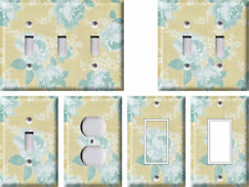 Blue Flowers 1 - Light Switch Covers Home Decor Outlet