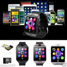 Bluetooth HD LCD Touch Smart Wrist Watch GSM SIM Card NFC Phone For Android IOS