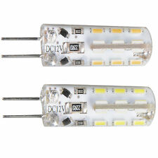 G4 Base LED Bulb Light 24 SMD 3014 Chip DC 12V RV Camper 360 Degree COOL WARM
