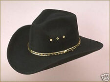New  Western Faux Felt Cowboy Hat - Pinch Front - Sized