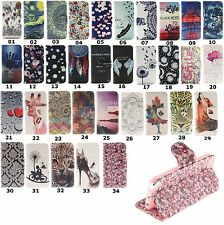Magnetic Flip Stand Wallet Leather Rubber Case Cover For iPod Touch 5th 6th Gen