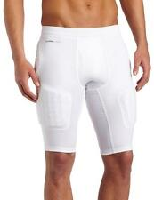 NWT Adidas Techfit CLIMACOOL Men's 5-Pad Padded Compression Shorts - White