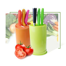 Universal Knives Block Holder Storage Kitchen Fiber Cutler Stand Organizer