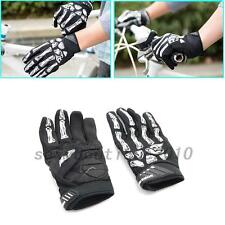 Skeleton Pattern Full Finger Gloves for Bicycle Motorcycle Bike Warm Gloves New