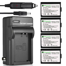 LP-E10 Batteries + Charger For Canon EOS Rebel T3 T5 1100D 1200D Kiss X50 Camera