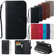 Luxury Filp Leather Wallet Card Hand Strap Case Cover For HTC Desire 816 820 626