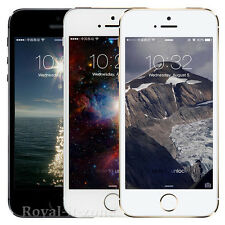 Original Factory Unlocked Apple iPhone 5s 16 32GB  IOS White Black Free Gift